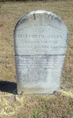 Elizabeth <I>Holland</I> Green
