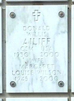Margaret Louise <I>Wilson</I> Ailiff