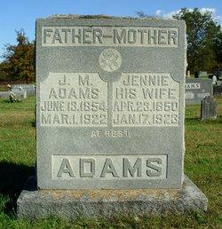 "James Monroe ""Mon"" Adams"