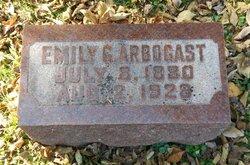 Emily Gertrude <I>Weiershauer</I> Arbogast