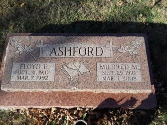 Mildred Marie <I>Kerns</I> Ashford