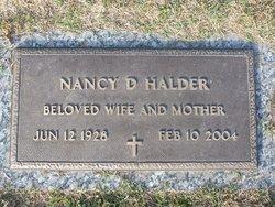 Nancy D. Halder