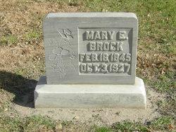 Mary Esther <I>Durkee</I> Brock