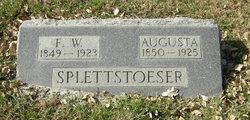 Frederick William Splettstoeser