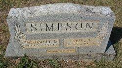 Delia Bell <I>Bryant</I> Simpson
