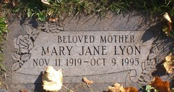 Mary Jane <I>Mais</I> Lyon