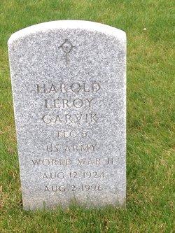 Harold Leroy Garvik