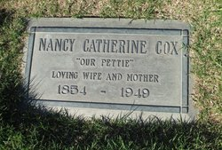 """Nancy Catherine """"Pettie"""" <I>Stone</I> Cox"""