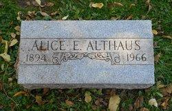Alice Ella <I>Zetik</I> Althaus