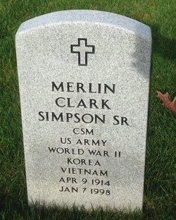 Merlin Clark Simpson, Sr
