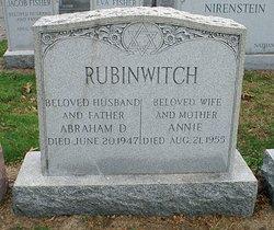Annie <I>Greenberg</I> Rubinwitch