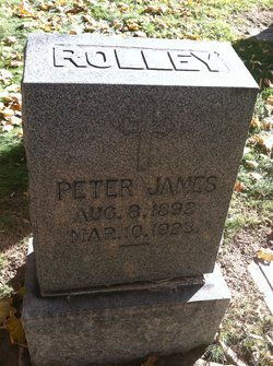 Peter James Rolley