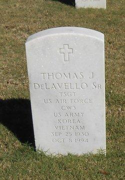 Thomas J Delavello, Sr