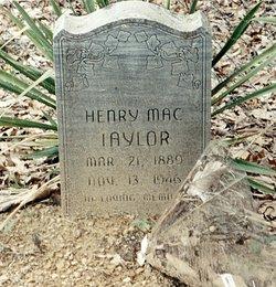Henry Mac Taylor