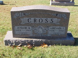 Virginia I. <I>Sears</I> Cross