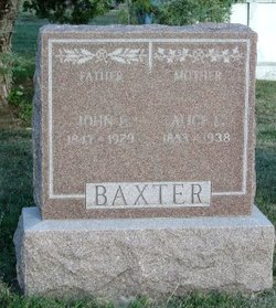 Alice L <I>Brazelton</I> Baxter