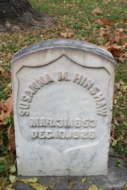 Susanna <I>McKnight</I> Hinshaw