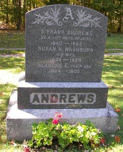"Susan N. ""Susie"" <I>Washburne</I> Andrews"