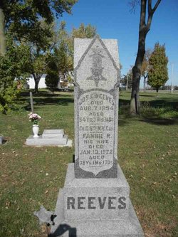 "Frances Rosette ""Fannie"" <I>Brewer</I> Reeves"