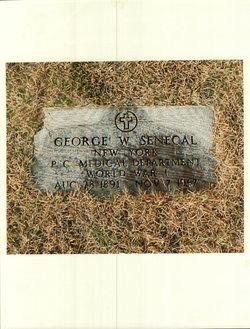 George W Senecal