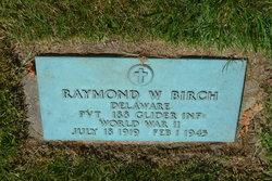 Pvt Raymond Williams Birch