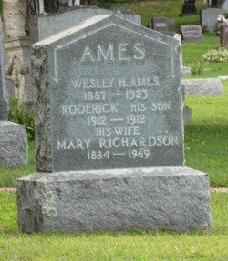 """Mary Jane """"Jennie"""" <I>Richardson</I> Ames"""