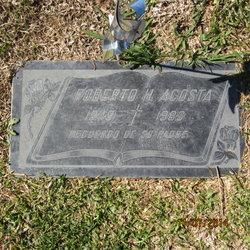 Roberto H Acosta
