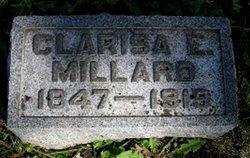 "Clarissa Eunice ""Clara"" <I>Nichols</I> Millard"