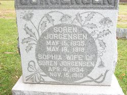 Sophia Dorthea <I>Schmidt</I> Jorgensen
