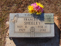Frances <I>Pounds</I> Sheeley