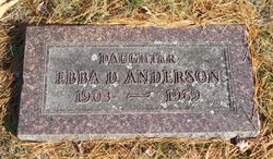 Ebba D. Anderson