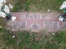 Bertha <I>Kee</I> Davis