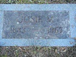 Josie Maude <I>Mathews</I> Wright