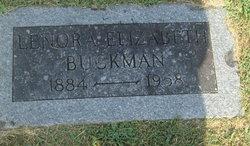 Lenore Elizabeth <I>Shelton</I> Buckman