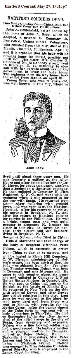 John A Soby