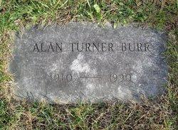 Alan Turner Burr