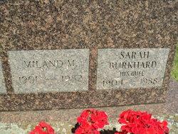 Sarah Catherine <I>Burkhard</I> Hanno