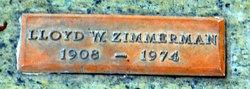 Lloyd William Zimmerman