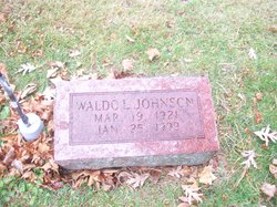Waldo Leonard Johnson