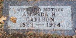 Amanda Helena <I>Peterson</I> Carlson