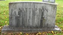 Mary <I>Todd</I> Batterton