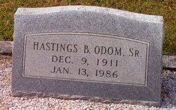 Hastings Benjamin Odom, Sr