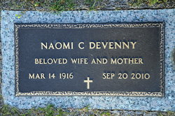 Naomi Lucretia <I>Caldwell</I> Devenny