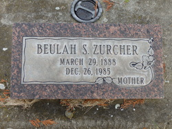 Beulah S. Zurcher
