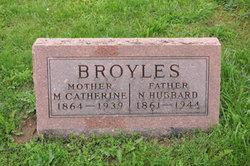 Mary Catherine <I>Riley</I> Broyles