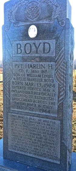PVT Harlin Hiram Boyd