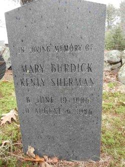 Mary S. <I>Burdick</I> Sherman