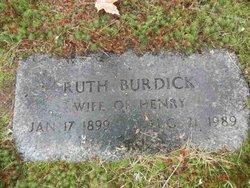 Ruth <I>Burdick</I> Kenly