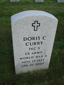 Doris Claire <I>Duval</I> Curry