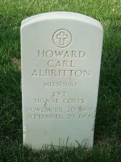 Howard Carl Albritton
